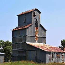 Old Time Grain Elevator by Marty Fancy