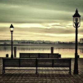 Old Town Alexandria On The Potomac by James DeFazio