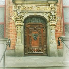 Old Town Door in Gdansk by Slawek Aniol