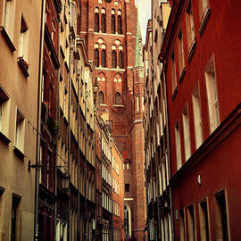 Old Town in Gdansk by Mariola Bitner