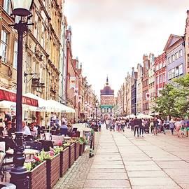 Old Town in Gdansk, Poland by Slawek Aniol