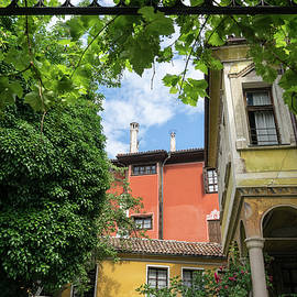 Old Town Plovdiv - Splendid Revival Houses Framed by Grapevine Pergola by Georgia Mizuleva