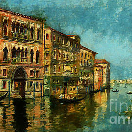 Old Venice by Lutz Roland Lehn