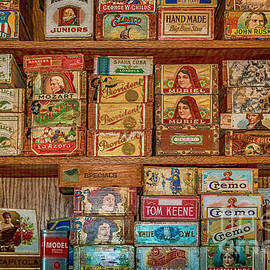 Old West Cigar Display by Janice Pariza