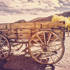 Old West Wagon by Jim Cook