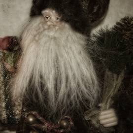 Old World Santa by Toni Abdnour
