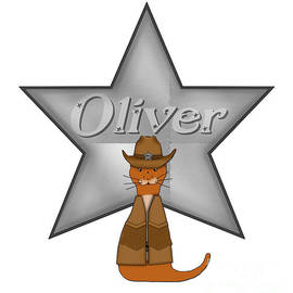 Oliver The Otter Cowboy of the Wild West by Colleen Cornelius