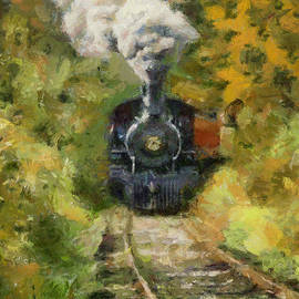 Oltimer train by Dragica Micki Fortuna