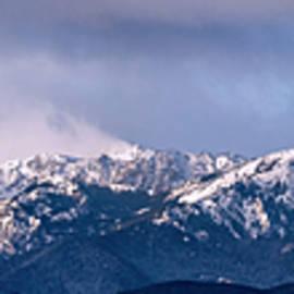 Olympic Mountain Cloudscape by Bob VonDrachek