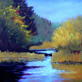 On the River by Nancy Merkle