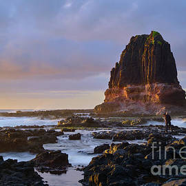 On the Rocks at Pulpit Rock by Neil Maclachlan