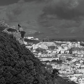 On Top of Nazare by Angelo DeVal