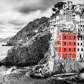 One color of Cinque Terre by Alexey Stiop