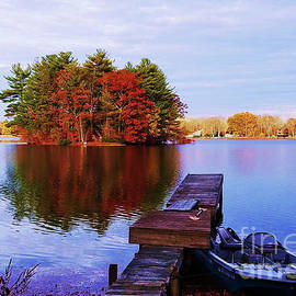 One Last One From Willet Pond, Walpole, Massachusetts by Marcus Dagan