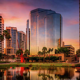 One Sarasota Tower in Sarasota,  Florida by Liesl Walsh
