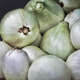Onions at Market by Rebecca Finley