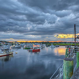 Only in Massachusetts Marshfield Town Pier by Juergen Roth