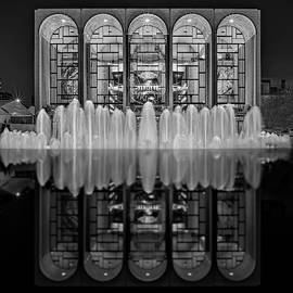 Opera House Reflections BW by Susan Candelario