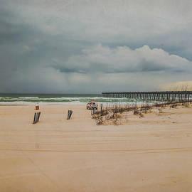 Orange Beach Storm Watch by Pamela Williams