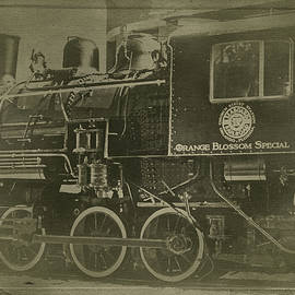 Orange Blossom Special Locomotive by Susan Maxwell Schmidt