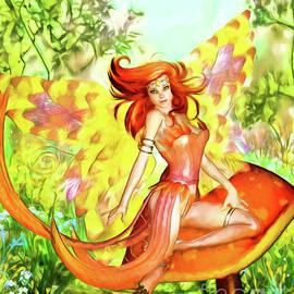 Orange Fairy by Alicia Hollinger