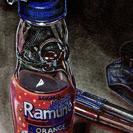 Orange Ramune by Chasity Colon