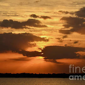 Orange Sky by AnnaJo Vahle