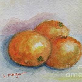 Oranges by Laurie Morgan