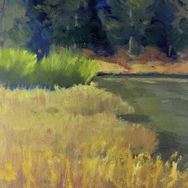 Oregon Lagoon by Nancy Merkle