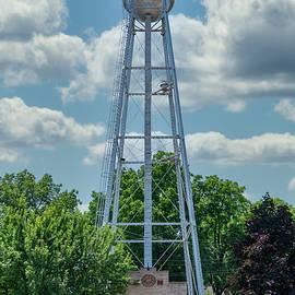 Oregon Water Tower and Pump House by Randy Scherkenbach