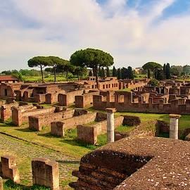 Ostia Antica, Rome. by Robert Murray