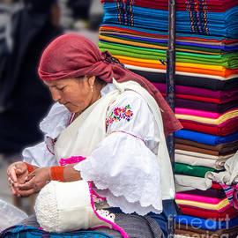 Otavalo Market in the Morning