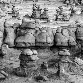 Other Worldly Hoodoos by Eric Albright