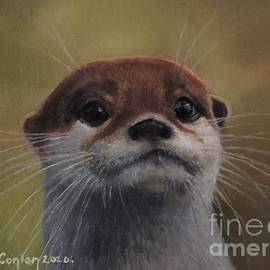 Otter Delight 1 by Sean Conlon