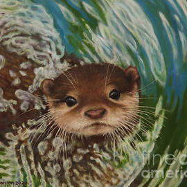 Otter Delight 2 by Sean Conlon