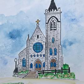 Our Lady Of Good Counsel Catholic Church by Marita McVeigh