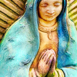 Our Lady Of Guadalupe by Jean OKeeffe Macro Abundance Art