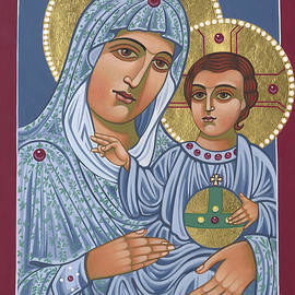 Our Lady of Jerusalem 305 by William Hart McNichols