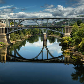 Ourense Camino Rio Minho Bridge by Micah Offman