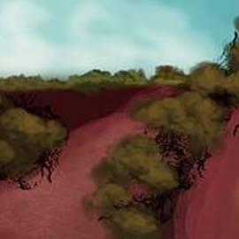 Outback Morning 2 by Julie Grimshaw