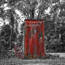 Outhouse In The Woods by James DeFazio