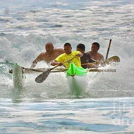 Outrigger Surf Competition by Craig Wood