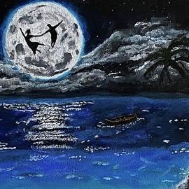 Dream Dance Over the Moon by Sofia Ula