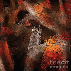 Owl In The Forest by Lois Bryan