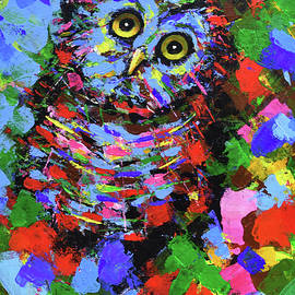 owl made in dreams SOLD by Nikola Golubovski