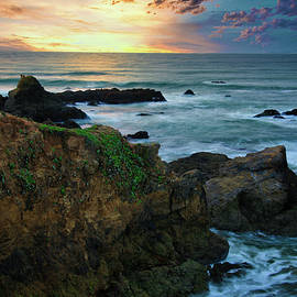 Pacific Coast Sunset by Zayne Diamond Photographic