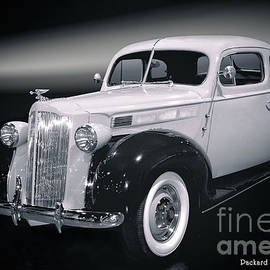 Packard Club Coupe 1938 BW by Thomas Burtney