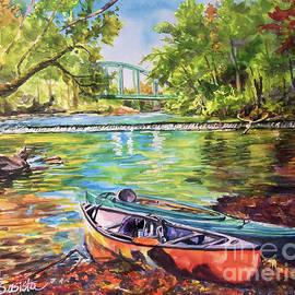 Paddle the Mahoning River by Beth Basista