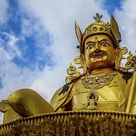 Padmasambhava statue in Kathmandu 01 by Murray Rudd