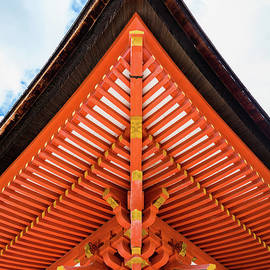 Pagoda roof structure, Miyajima by Lyl Dil Creations